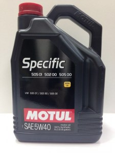 Motul Specific VW 505.00/502.00